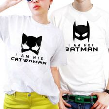 """Marškinėlių komplektas """"Batman & Catwoman"""""""