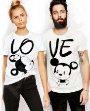 """Marškinėlių komplektas """"LOVE"""""""
