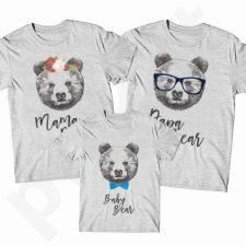 Marškinėlių komplektas šeimai