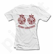 """Moteriški marškinėliai """"Merry Christmas"""""""