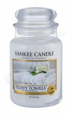 Yankee Candle Fluffy Towels, aromatizuota žvakė moterims ir vyrams, 623g