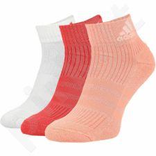 Kojinės Adidas 3 Stripes Performance Ankle Half Cushioned 3 poros W S99903