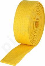 Diržas budo 2,6m geltonas