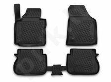 Guminiai kilimėliai 3D VW Caddy 2015->, 4 pcs. /L65012