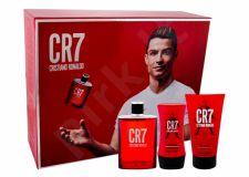 Cristiano Ronaldo CR7, rinkinys tualetinis vanduo vyrams, (EDT 100 ml + dušo želė 150 ml + balzamas po skutimosi 100 ml)