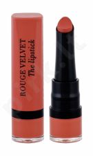 BOURJOIS Paris Rouge Velvet, The Lipstick, lūpdažis moterims, 2,4g, (15 Peach Tatin)