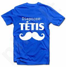 """Marškinėliai """"Diagnozė: tėtis"""""""