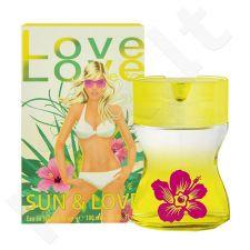 Love Love Sun & Love, tualetinis vanduo moterims, 35ml