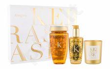 Kérastase Elixir Ultime, rinkinys plaukų aliejus ir serumas moterims, (Beautifying Oil 100 ml + šampūnas Elixir Ultime Le Bain 250 ml + Scented žvakė 100 g)