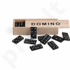 Stalo žaidimas Juego Black Dominoes