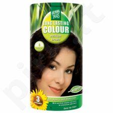 HENNAPLUS ilgalaikiai plaukų dažai Medium Brown