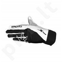 Pirštinės Skigo X-skin, black & white
