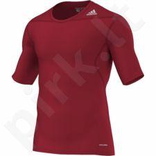 Marškinėliai termoaktyvūs trumpomis rankovėmis Adidas Techfit Base D82089