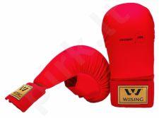 Karate pirštinės WKF L raudona