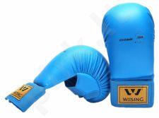 Karate pirštinės WKF L mėlyna