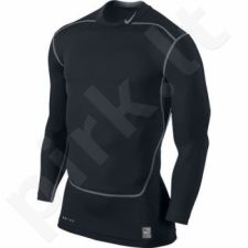 Marškinėliai termoaktyvūs Nike Core Compression LS MOCK 2.0 449795-010