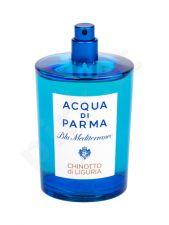 Acqua di Parma Blu Mediterraneo, Chinotto di Liguria, tualetinis vanduo moterims ir vyrams, 150ml, (Testeris)