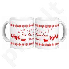Kalėdinis puodelis su Jūsų pasirinktu vardu
