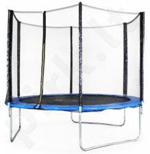 Akcija! Batutas 6FT (183 cm) Sports Jump su tinklu ir kopėtėlėmis