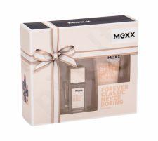 Mexx Forever Classic Never Boring, rinkinys tualetinis vanduo moterims, (EDT 15 ml + dušo želė 50 ml)