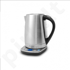 Caso WK 2200 With electronic control, Stainless steel, Stainless steel, 2200 W, 1.7 L, 360° rotational base