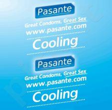 Prezervatyvai Pasante Cooling (1 vnt)