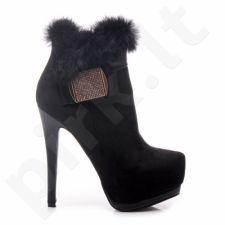 PREKĖ ŽEMIAU SAVIKAINOS! Aukštakulniai auliniai batai BELLE WOMEN 99307B /S1-83P