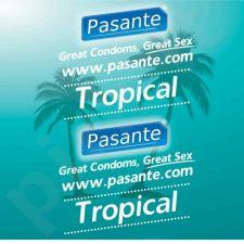 Prezervatyvai Pasante Tropical (1 vnt)