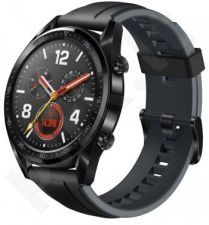 HUAWEI WATCH GT BLACK WITH RUBBER STRAP