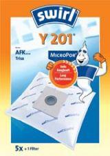 Maišeliai dulkių siurbliams SWIRL Y201/5 MP1 D.s. filtras