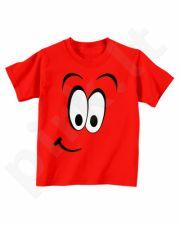"""Vaikiški marškinėliai """"Linksmas veidukas"""""""