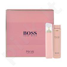 HUGO BOSS Boss Ma Vie Pour Femme, rinkinys kvapusis vanduo moterims, (EDP 75ml + 200ml kūno losjonas)