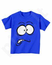 """Vaikiški marškinėliai """"Išsigandęs veidukas"""""""