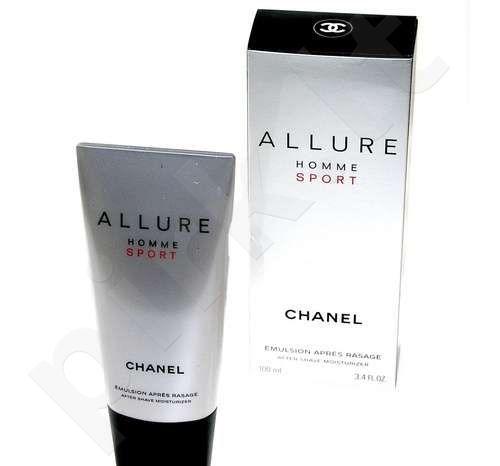 Chanel Allure Homme Sport, balzamas po skutimosi vyrams, 100ml