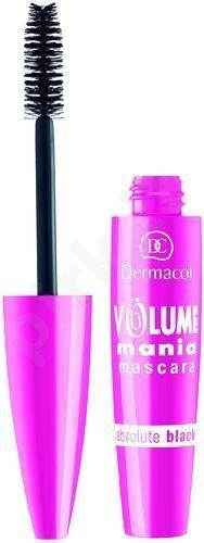 Dermacol Volume Mania, blakstienų tušas moterims, 10ml, (01 Black)