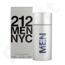 Carolina Herrera 212 NYC Men, tualetinis vanduo vyrams, 100ml, (Testeris)