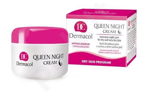 Dermacol Queen, naktinis kremas moterims, 50ml