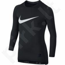Marškinėliai termoaktyvūs Nike Pro Cool HBR Compression Long Sleeve Top Junior 726460-010