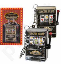 Raktų pakabukas - kazino aparatas