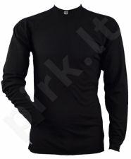 Termo marškinėliai 29308 20 M black ilg. rankov.