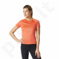 Marškinėliai treniruotėms adidas D2M Tee Lose W BK2714