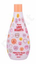 Swizzels Love Hearts, Perfectly Peach, dušo želė vaikams, 400ml