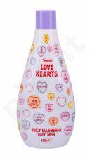 Swizzels Love Hearts, Juicy Blueberry, dušo želė vaikams, 400ml