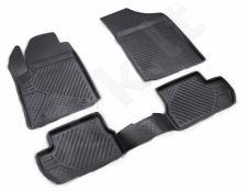 Guminiai kilimėliai 3D CITROEN C2 2003-2008, 2008->, 4 pcs. /L10024