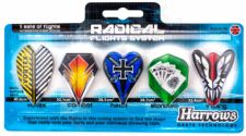 Strėlyčių sparnelių 5 rink. RADICAL FLIGHTS SYSTEM