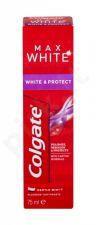 Colgate Max White, White & Protect, dantų pasta moterims ir vyrams, 75ml