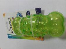 Žaislas lateksinis žalias kauliukas 13.5*5.6cm