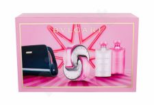 Bvlgari Omnia Pink Sapphire, rinkinys tualetinis vanduo moterims, (EDT 65 ml + kūno losjonas 75 ml + dušo želė 75 ml + kosmetika krepšys)