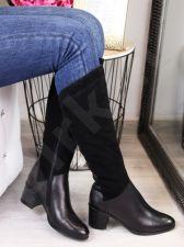 Ilgaauliai odiniai batai Dolce Pietro