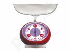 Virtuvinės svarstyklės ViceVersa Tix Scale 3kg red 14133